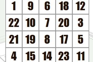 <a href=http://www.zhuyili.org/fangfa/380.html target=_blank class=infotextkey>注意力训练<a href=http://www.zhuyili.org/fangfa/380.html target=_blank class=infotextkey>方法</a></a>:舒尔特方格